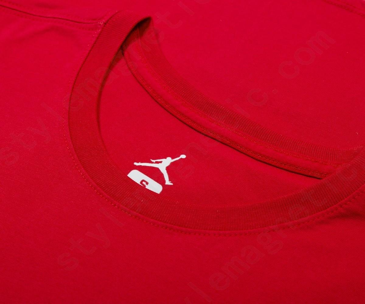 Jordan Men Nike Last Shot Gfx Tees Gym Red - -1