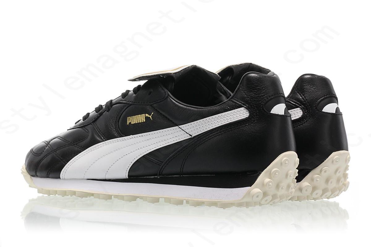 Men Puma King Avanti Premium Puma Black-Puma White-Whisper White-Puma Team Gold - -1