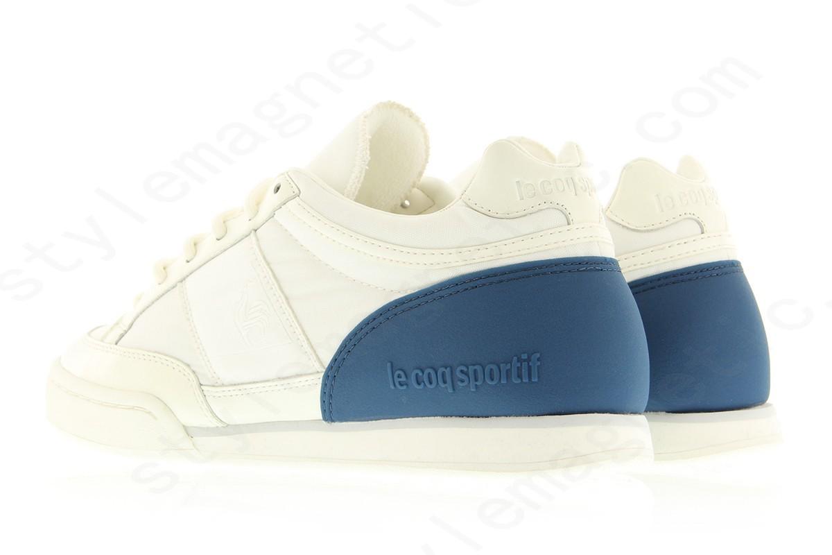 Mens Le Coq Sportif Dominator Heel Stabilizer Optical White - -1