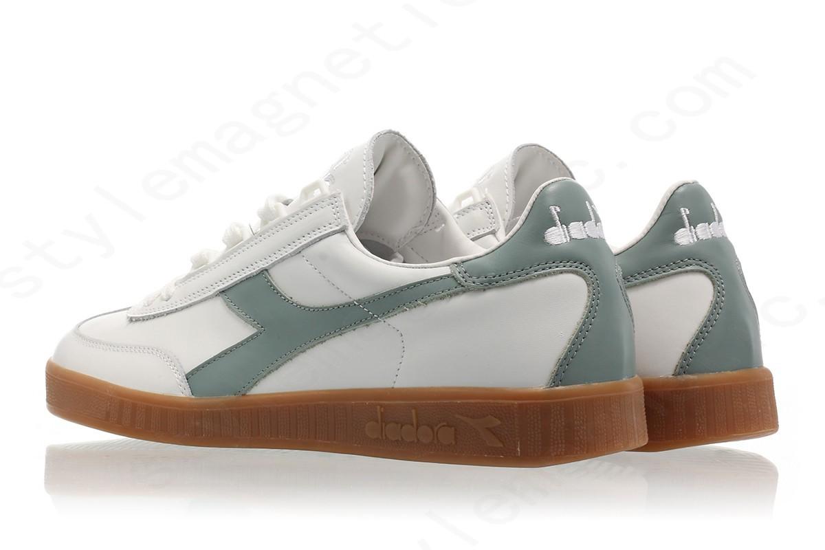 Men Diadora B.original Premium White/chinois Green - -1